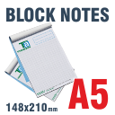 Block Notes incollati A5